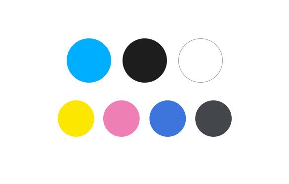 shortlist colours